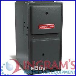 100k BTU 96% AFUE Variable Speed 2 Stage Goodman Gas Furnace UpflowithHorizontal
