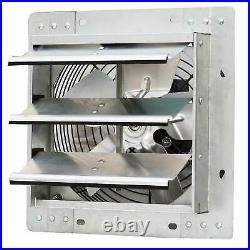 10'' Industrial Exhaust Shutter Fan Variable Speed Wall Mount Fan Garage Shop