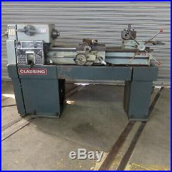 13 x 36 Clausing Variable Speed lathe, Model 1301, Bed Turret