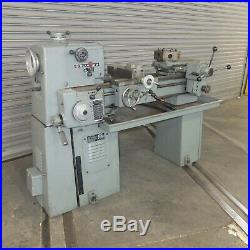 15 x 24 Clausing Variable Speed Turret lathe, Model 6950, Power Turret