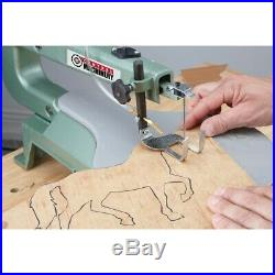 16 Variable Speed Scroll Saw Precise Cuts Carpenter Woodworking Tool Coping Saw