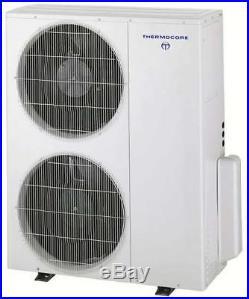 18000 60000 BTU Dual Zone Ductless Mini Split Air Conditioner Heat Pump