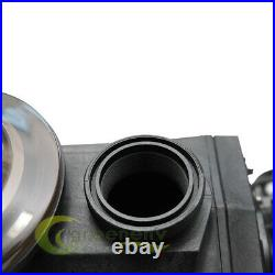 1 1/2HP 110-240V INGROUND Swimming POOL PUMP MOTOR with Strainer 2 thread NPT