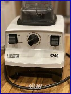 2008 Vita-Mix Vitamix 5200 Variable Speed Blender White
