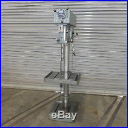 20 Clausing Variable Speed Floor Type Drill Press, Model 22V, Single Phase