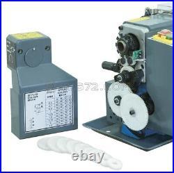 230v Metal Mini Lathe Automatic Longitudinal Feeds And Variable Speed Fervi 0716