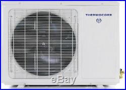 24000 BTU 21 SEER Dual Zone Ductless Mini Split Air Conditioner -12000+12000