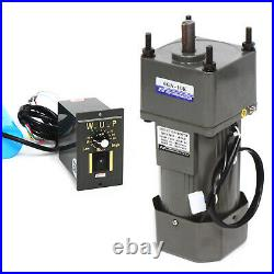 250W AC Gear Reduction Motor Electric+Variable Speed Control Reversible 110V New