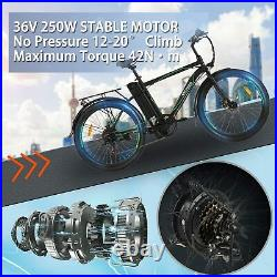 26 Electric Bike for Adults Electric Commuting Bicycle withRemovable 10Ah Battery