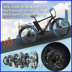26 Variable Speed Electric Mountain Bicycle Disc Brak Li-Batterye City E-bike