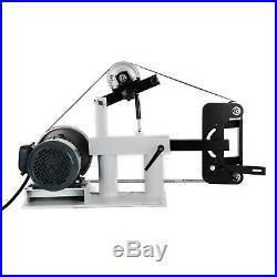 2x82 Belt Grinder Sander 2HP Multifunction Variable Speed Drive Wheel 3 Model