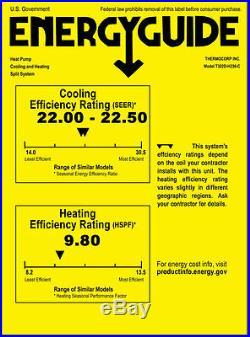 30000 BTU Dual Zone Ductless Mini Split Air Conditioner Heat Pump, 12000 + 18000