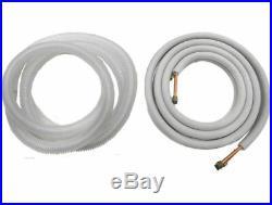 33000 BTU Dual Zone Ductless Mini Split Air Conditioner Heat Pump, 9000 + 24000