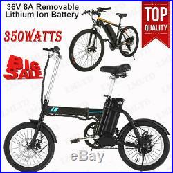 350W E-Bike Variable Speed Electric Mountain Bicycle Disc Brake Cycling Bike Kit