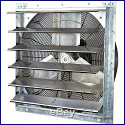 4200 CFM Power 24 in. Variable Speed Shutter Exhaust Fan