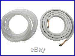 48k BTU Tri Zone Ductless Mini Split AC, Heat Pump 12k-18k-18k, with Linesets