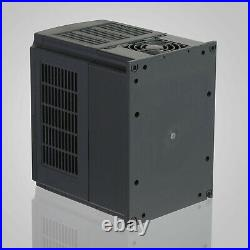 5HP 4KW Variable Frequency Drive VFD Low-Output 3 Phase 220V-250V Single Speed