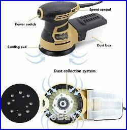 5 Inch Variable Speed Random Orbit Electric Sander DeWalt DWE6421 Makita BO5030