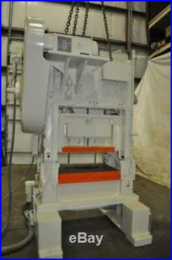 60 Ton Minster P2-60-36 Variable-speed Straight-side Doble Crank Press 28748