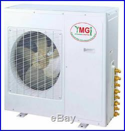 72000 BTU Quad Zone Ductless Mini Split Air Conditioner Heat 18k+18k +18k+18k