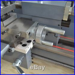 750W 8''x16'' Variable-Speed Mini Metal Lathe Bench Precision Digital Workbench
