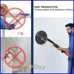 750W Drywall Sander Commercial Electric Adjustable Variable Speed Sanding Pad
