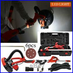 750W Drywall Sander Electric Variable Adjustable Speed Sanding Pad with LED Light
