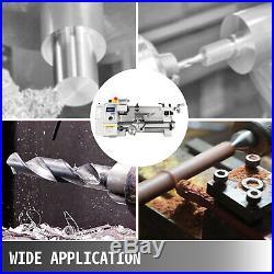 8''x14'' Mini Metal Lathe Variable Speed 2250 RPM 650W 110V Metalworking Machine
