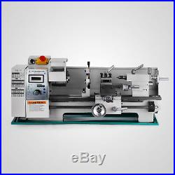 8 x 16Variable-Speed Mini Metal Lathe Steady Rest Bench Top Processing PRO