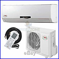 9000 Btu 22 SEER Variable Speed Ductless Mini Split Air Conditioner Heat Pump