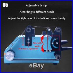 950W Double Axis Electric Sander Sanding Belt Variable Speed Grinding Machine US