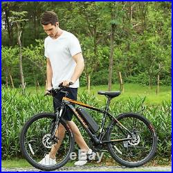 ANCHEER 26'' Electric Mountain Bike 350W Power E-bike Variable Speed Bicycle USA