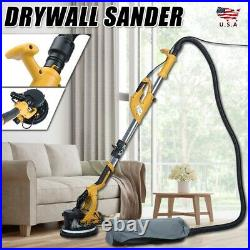 Adjust Variable Speed Electric Drywall Sander with Dust Removal System +LED Light