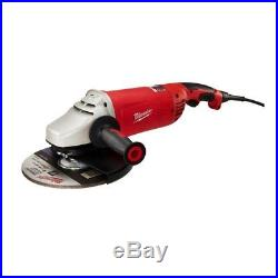 Angle Grinder 7in 9in Large Corded Electric 15 Amp Trigger Switch Variable Speed