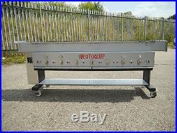 Automatic Seekh Kebab Conveyor BBQ Grill ORIGINAL Auto Rotating Variable Speed