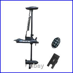 Black Haswing 12V 55LBS 54 Bow Mount Electric Trolling Motor + Quick Release