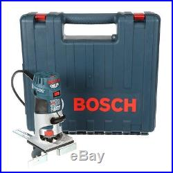 Bosch 5.6 Amp Corded Electric Variable Speed Colt Palm Router Hand Wood Tool