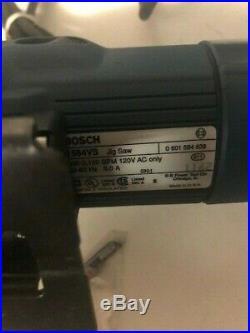 Bosch Variable Speed Orbital Action Jigsaw #1584vs USA Made Stroke Length 1