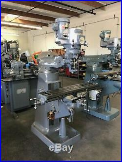 Bridgeport 1.5 HP Variable Speed Milling Machine