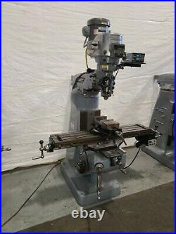 Bridgeport 2HP Milling Machine Variable Speed Digital Read Out LOADED