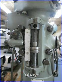 Bridgeport Series 1 2Hp Variable Speed Milling Machine With7Riser & X-Axis Feed