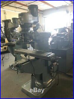 Bridgeport Variable Speed Milling Machine 1.5hp 9 X 42 / S