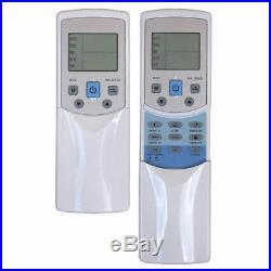 Ceiling Cassette Ductless Mini Split Air Conditioner Heat Pump 12000 + 18000 BTU
