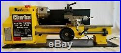 Clarke MetalWorker Variable Speed Metal Lathe BT1028, 7 Swing, 11-3/4 Centers