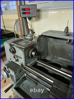 Clausing 6913 Variable Speed Lathe, Chucks, Tool Holders and tools, Collets