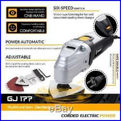 DEKOPRO 110V Electric Multifunction Oscillating Tool Kit Multi-Tool Power Tool