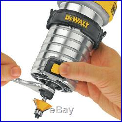 DEWALT DWP611 1-1/4 HP Variable Speed Premium Compact Router with LED DWP611 New
