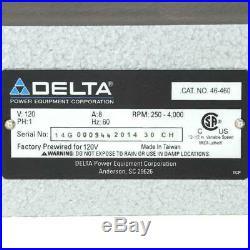 Delta Midi-Lathe Variable Speed Wood Lathe 12-1/2 in