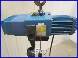 Demag DCS-Pro 1 125 H8 VS 250lb 1/8 Ton Electric Chain Hoist Fall Variable Speed