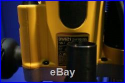 Dewalt DW621 2 HP Electronic Variable Speed Plunge Router in Box